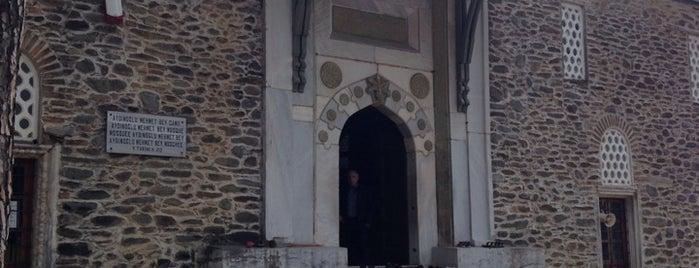 Aydınoğlu Mehmet Bey Camii is one of muğla 14.