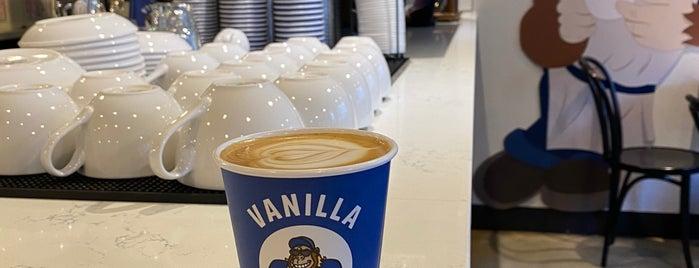 Vanilla Gorilla Cafe is one of สถานที่ที่ Natraj ถูกใจ.