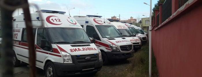 Samsun 112 İl ambulans servisi başhekimliği is one of Yunus'un Beğendiği Mekanlar.