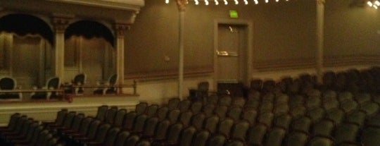 Springer Opera House is one of Best Places to Check out in United States Pt 1.