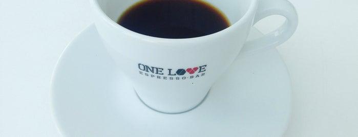 ONE LOVE coffee is one of fresh-roasted-coffee-kyiv.