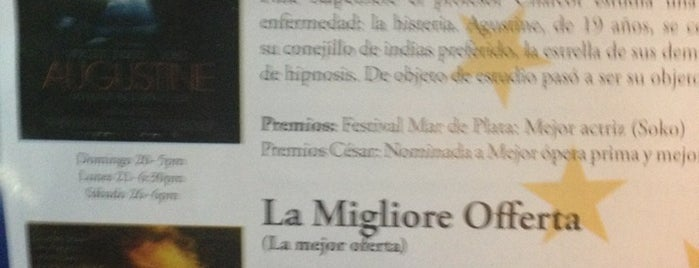 Festival De Cine Europeo - Cine Magaly is one of Orte, die Tatiana gefallen.