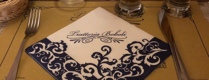 Trattoria Boboli is one of Florence.