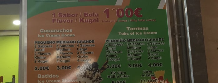 Gelateria Taormina is one of Tempat yang Disukai Run The.