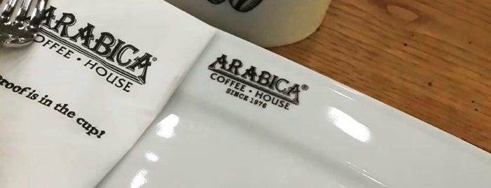 Arabica Coffee House is one of antalya.