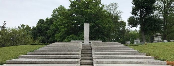 Blue Sky Mausoleum is one of Frank Lloyd Wright.