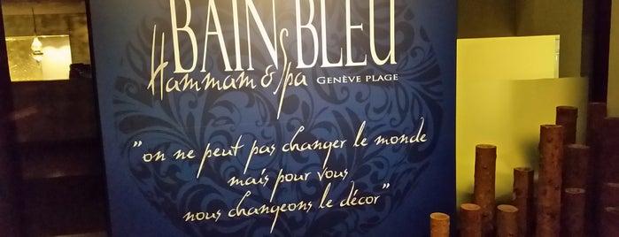Bain-bleu & Hammam Genève Plage is one of Lugares favoritos de Víctor.