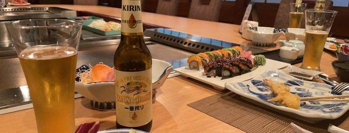 Sato Japanese Restaurant- Bahrain is one of Queen'in Kaydettiği Mekanlar.