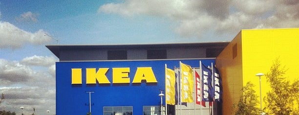 IKEA is one of Lieux qui ont plu à Carl.