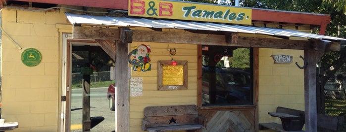 B&B Tamales is one of San Antonio.