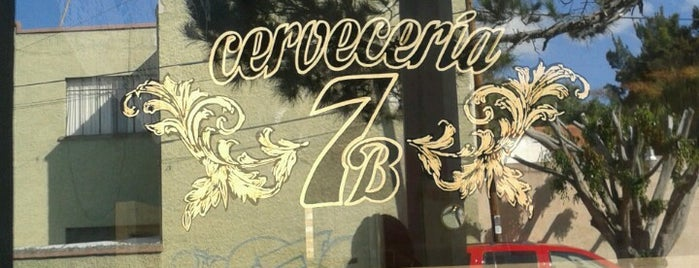 Cerveceria 7B is one of Bares, cantinas, cervecerías, micheladas..