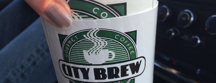City Brew is one of Locais curtidos por John.