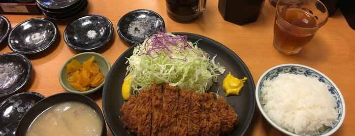 Tonkatsu Daimon Aoki is one of Tokyo Eats.