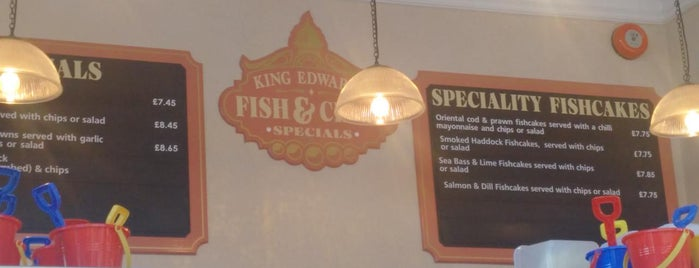 King Edwards Fish & Chips is one of Posti che sono piaciuti a Carl.