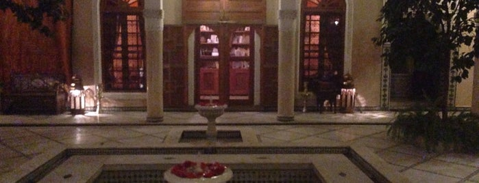 Riad&Spa Laurence Olivier is one of สถานที่ที่ Maria ถูกใจ.