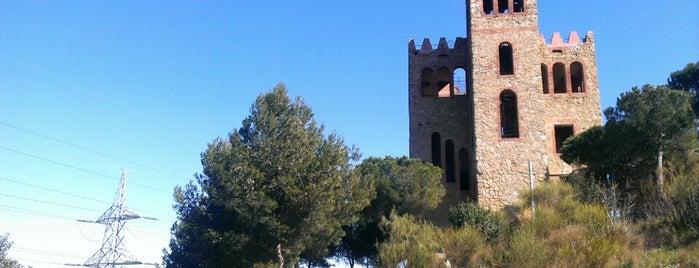 Castell de Torre Baró is one of barcelona • outdoor.