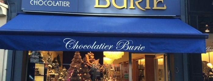 Chocolatier & Confiserie Burie is one of Antwerp+Belgium.