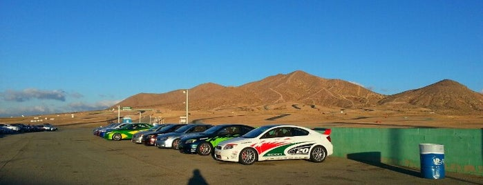 Streets Of Willow Springs is one of Bucket List for Gearheads.