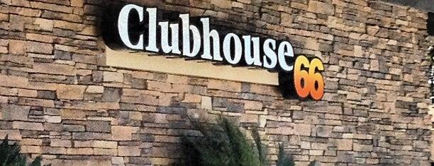 Clubhouse 66 is one of Lieux sauvegardés par Robert.