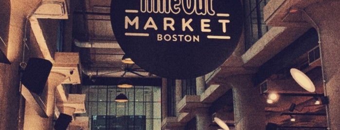 Time Out Market is one of Boston.