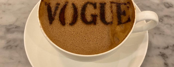 Vogue Cafe is one of Riyadh For Visitors.