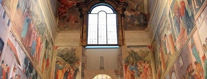 Cappella Brancacci is one of Florenz.