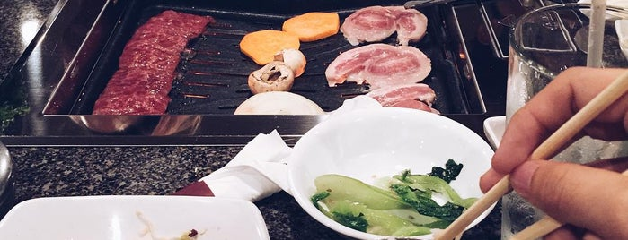 Cho Sun Gal Bi Korean BBQ & Sushi Bar is one of Lugares guardados de Joshua.