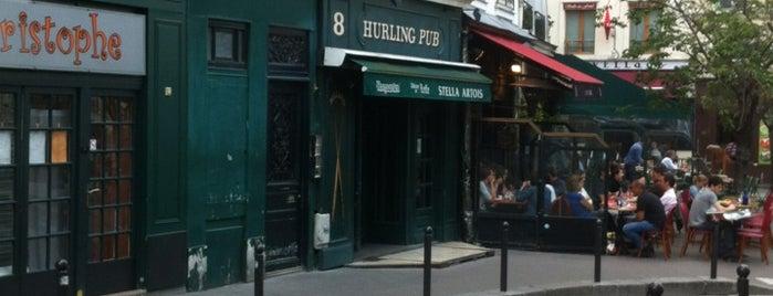 Hurling Pub is one of Bars Mouffetard.