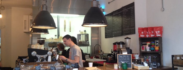 The Coffeeworks Project is one of Quintessential London.