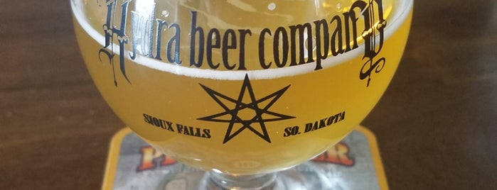 Hydra Beer Co-Taphouse & Brewery is one of Gespeicherte Orte von Drew.