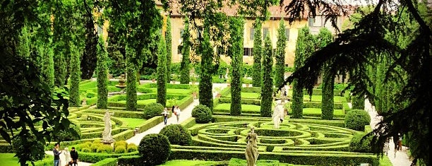 Giardino Giusti is one of Italy.