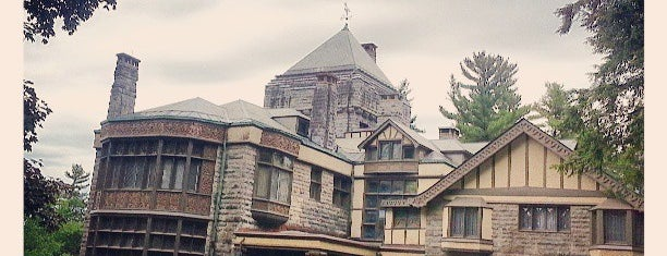 Yaddo is one of Keith's Saved Places.