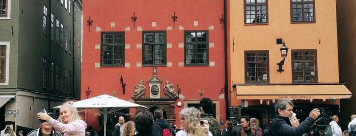 Gamla Stan, Stockholm is one of Locais curtidos por Евгений.