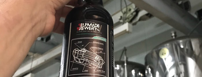 Selfmade Brewery is one of Lieux qui ont plu à Михаил.