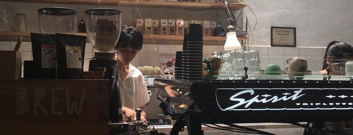Feeka Coffee Roasters is one of Orte, die Raphael gefallen.