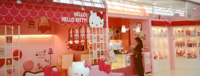 Hello Kitty Cafe is one of 韓国.