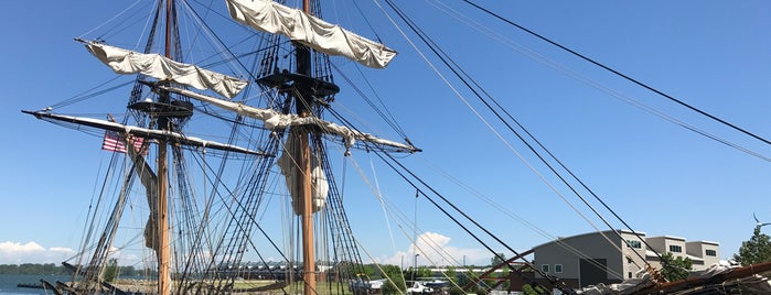 Flagship Niagara is one of Ships (historical, sailing, original or replica).