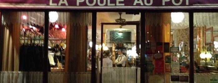 La Poule Au Pot is one of A Paris.