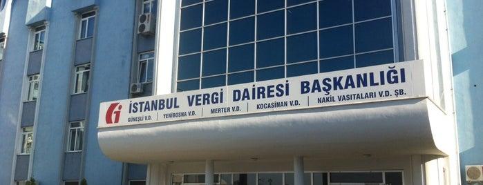 Bahçelievler Vergi Dairesi is one of Tempat yang Disukai Eser Ozan.