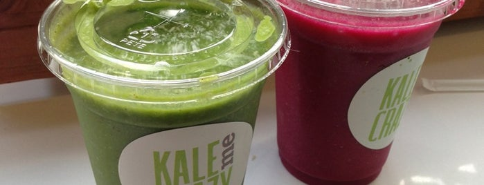 Kale Me Crazy is one of Food to Go (home or hotel!).