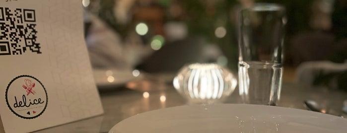 Delice Restaurant & Lounge is one of Queen: сохраненные места.