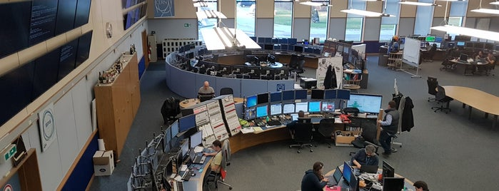 Cern Control Centre is one of Locais curtidos por Ruben.