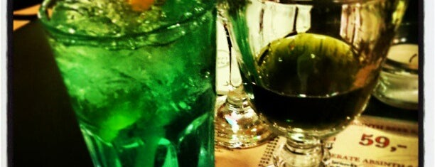 Absintherie is one of Last night.
