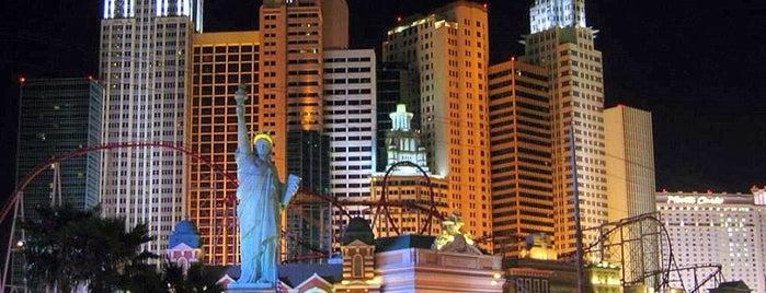 New York-New York Hotel & Casino is one of Las Vegas.