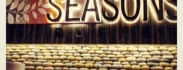 Seasons Buffet is one of Orte, die Jessica gefallen.