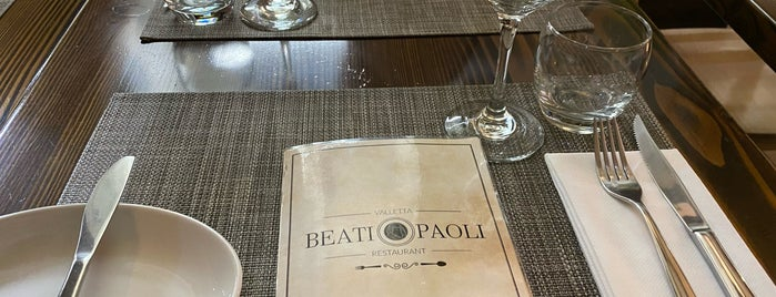 Beati Paoli Restaurant is one of AboutMalta.