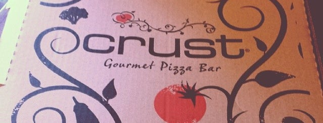 Crust Gourmet Pizza Bar is one of Places to definitely go back to.