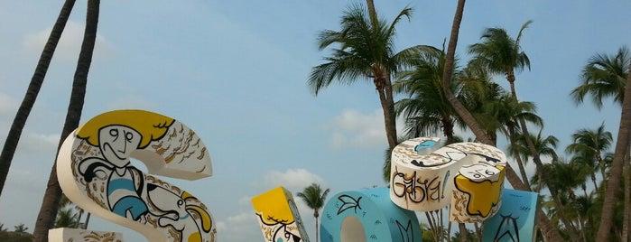 Siloso Beach is one of Singapura.