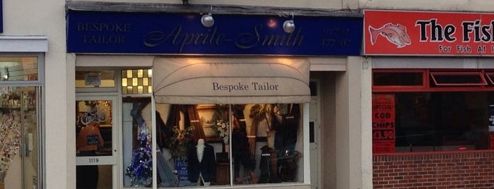 Aprile-Smith Bespoke Tailors is one of Mike 님이 좋아한 장소.