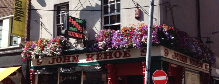 Kehoe's is one of Dublin Literary Pub Crawl.